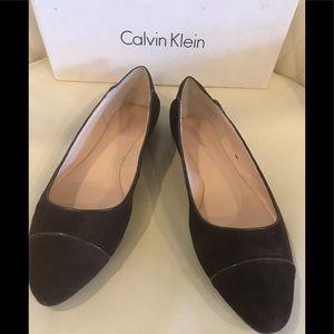 NEW Calvin Klein Pritah kid Suede Shoes